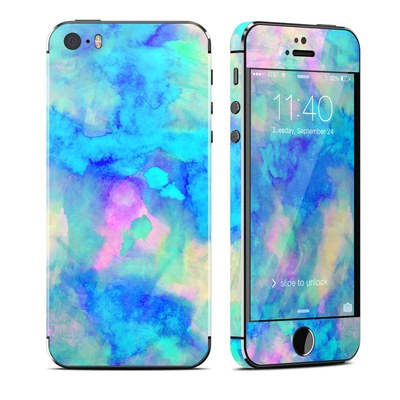 Apple iPhone 5S Skin - Electrify Ice Blue