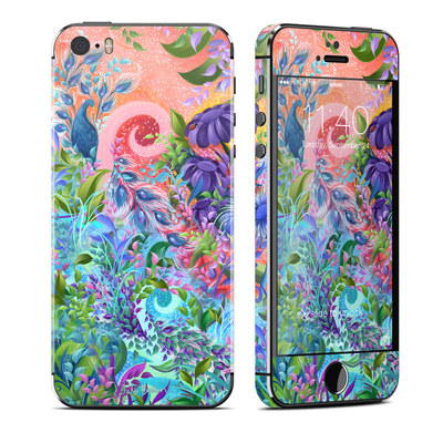 Apple iPhone 5S Skin - Fantasy Garden