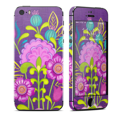 Apple iPhone 5S Skin - Floral Bouquet