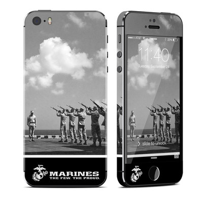 Apple iPhone 5S Skin - The Few The Proud