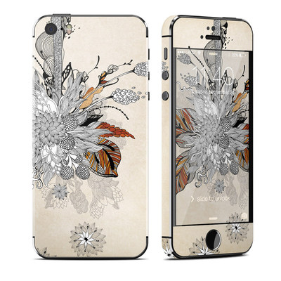 Apple iPhone 5S Skin - Fall Floral