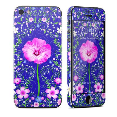 Apple iPhone 5S Skin - Floral Harmony