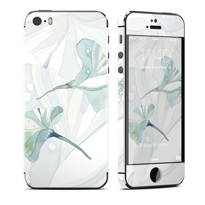 Apple iPhone 5S Skin - Floating Gingko