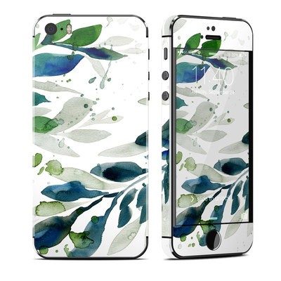 Apple iPhone 5S Skin - Floating Leaves