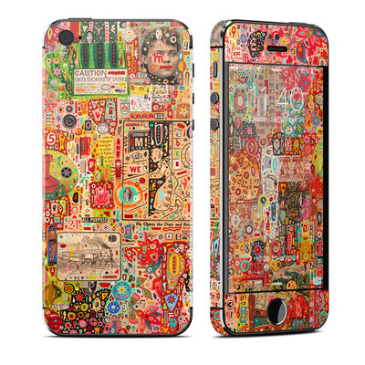 Apple iPhone 5S Skin - Flotsam And Jetsam