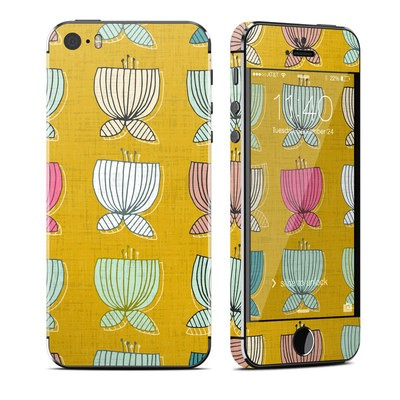Apple iPhone 5S Skin - Flower Cups