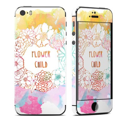 Apple iPhone 5S Skin - Flower Child