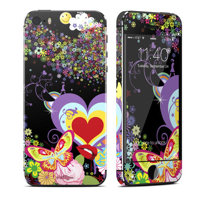 Apple iPhone 5S Skin - Flower Cloud