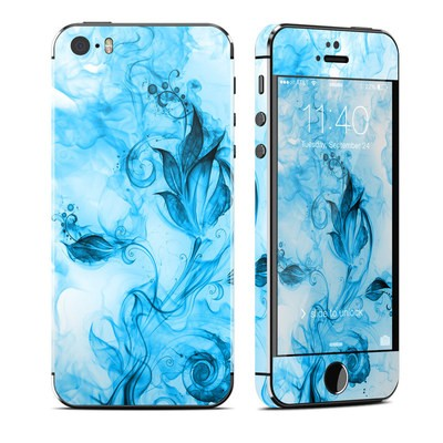 Apple iPhone 5S Skin - Flower of Ice
