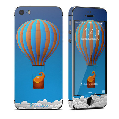 Apple iPhone 5S Skin - Flying Elephant