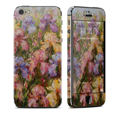 Apple iPhone 5S Skin - Field Of Irises