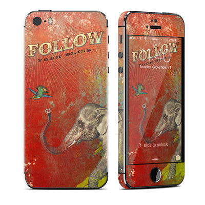 Apple iPhone 5S Skin - Follow Your Bliss