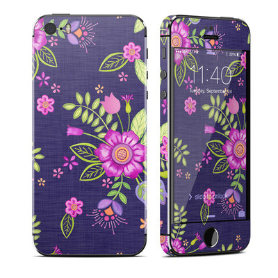 Apple iPhone 5S Skin - Folk Floral