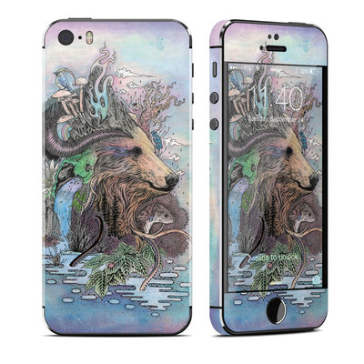 Apple iPhone 5S Skin - Forest Warden