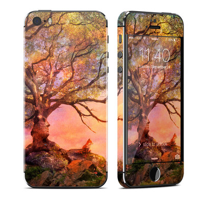 Apple iPhone 5S Skin - Fox Sunset