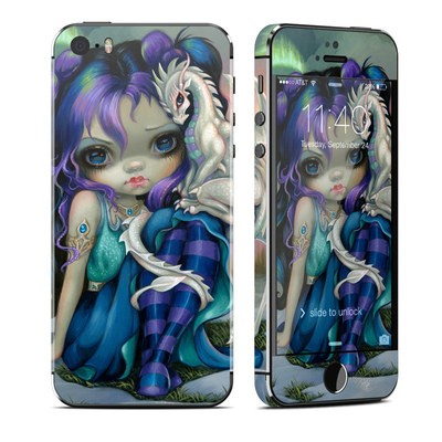 Apple iPhone 5S Skin - Frost Dragonling