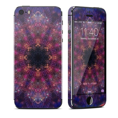 Apple iPhone 5S Skin - Galactic Mandala
