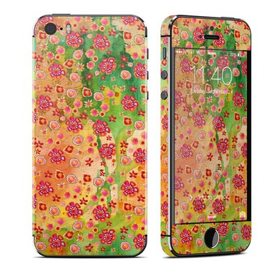 Apple iPhone 5S Skin - Garden Flowers