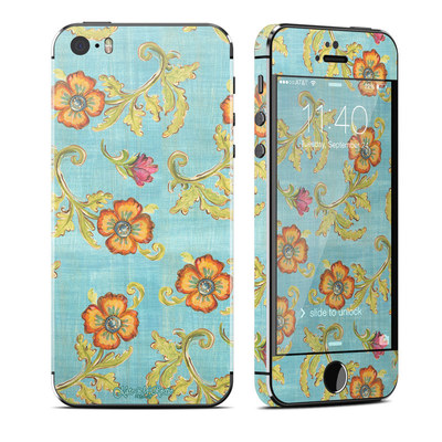 Apple iPhone 5S Skin - Garden Jewel