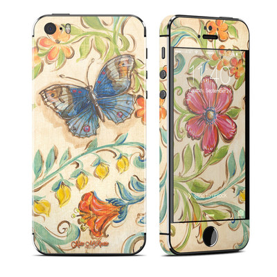 Apple iPhone 5S Skin - Garden Scroll