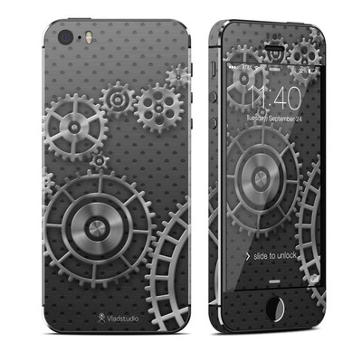 Apple iPhone 5S Skin - Gear Wheel