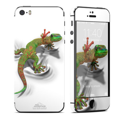 Apple iPhone 5S Skin - Gecko