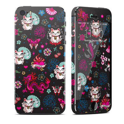 Apple iPhone 5S Skin - Geisha Kitty