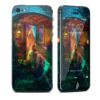 Apple iPhone 5S Skin - Gypsy Firefly