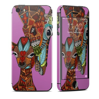 Apple iPhone 5S Skin - Giraffe Love