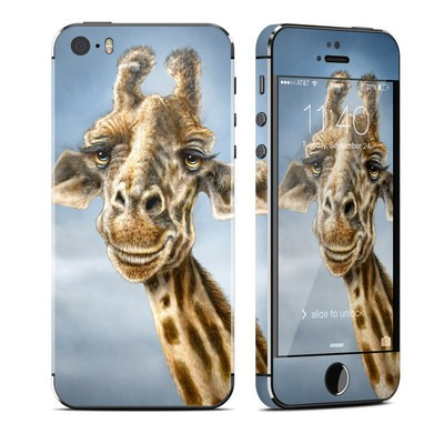 Apple iPhone 5S Skin - Giraffe Totem