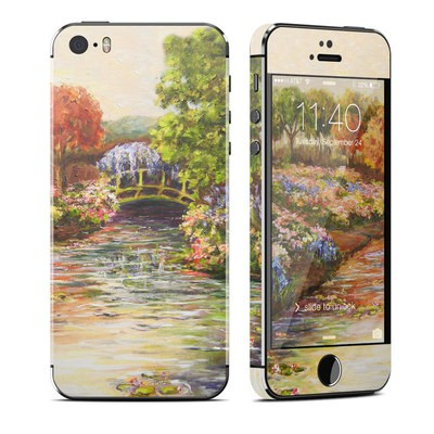 Apple iPhone 5S Skin - Giverny Forever