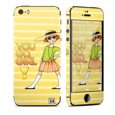 Apple iPhone 5S Skin - You Go Girl