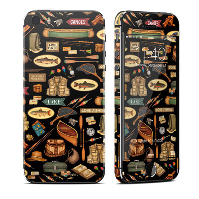 Apple iPhone 5S Skin - Gone Fishing