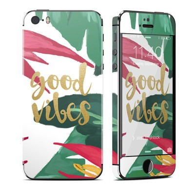 Apple iPhone 5S Skin - Good Vibes