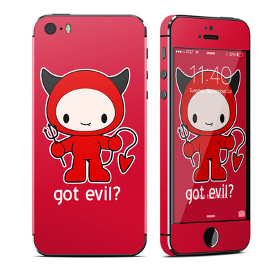 Apple iPhone 5S Skin - Got Evil
