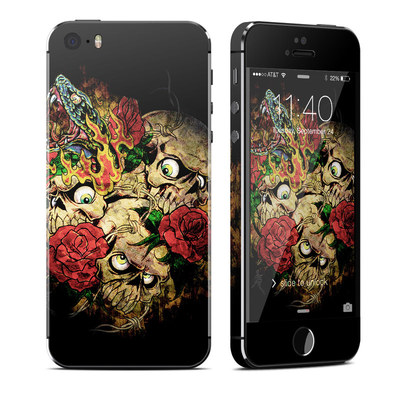 Apple iPhone 5S Skin - Gothic Tattoo