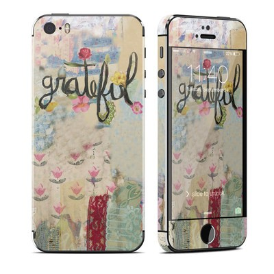 Apple iPhone 5S Skin - Grateful