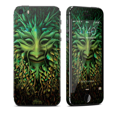 Apple iPhone 5S Skin - Greenman
