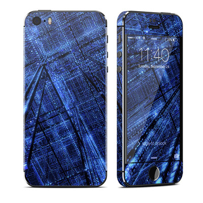 Apple iPhone 5S Skin - Grid