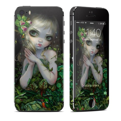 Apple iPhone 5S Skin - Green Goddess