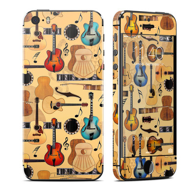 Apple iPhone 5S Skin - Guitar Collage
