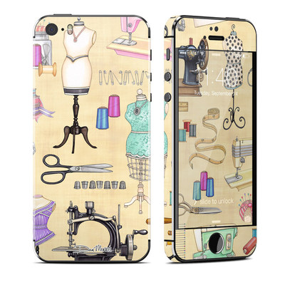 Apple iPhone 5S Skin - Haberdashery