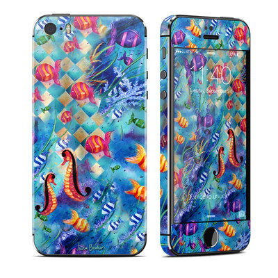 Apple iPhone 5S Skin - Harlequin Seascape