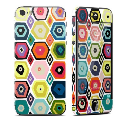 Apple iPhone 5S Skin - Hex Diamond