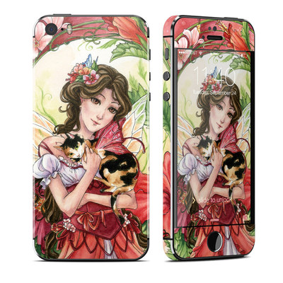 Apple iPhone 5S Skin - Hibiscus Fairy
