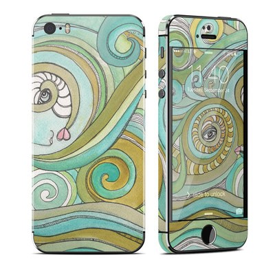 Apple iPhone 5S Skin - Honeydew Ocean