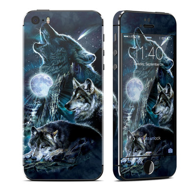 Apple iPhone 5S Skin - Howling
