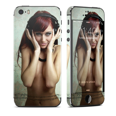 Apple iPhone 5S Skin - Headphones