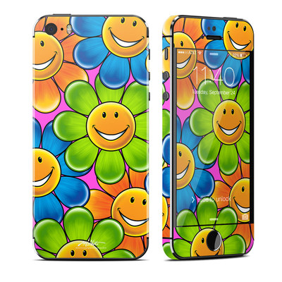 Apple iPhone 5S Skin - Happy Daisies