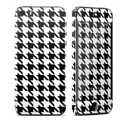Apple iPhone 5S Skin - Houndstooth